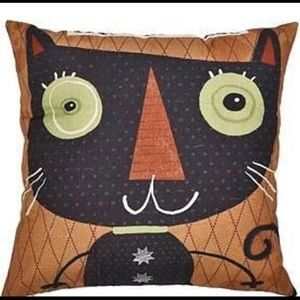 Cat Accent Pillow Cover